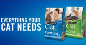 Free Purina Cat Perks Codes