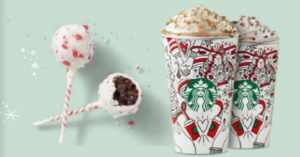 Starbucks Buy One Get One Cake Pops