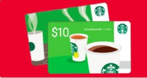 free 10 starbucks gift card whole mom. Black Bedroom Furniture Sets. Home Design Ideas