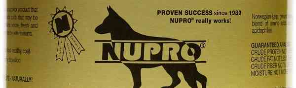 Free Sample of Nupro Natural Pet Supplements