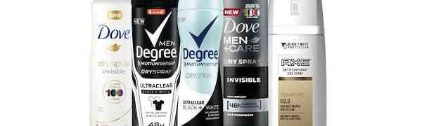 Free Unilever Antiperspirant Deodorant