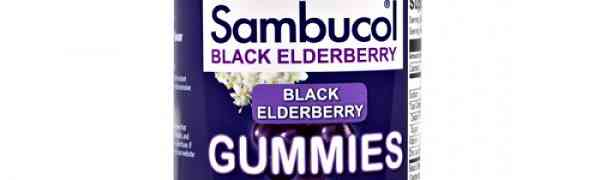Free Sambucol Black Elderberry Gummies