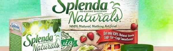 Free Sample of SPLENDA Zero & Naturals Sweeteners