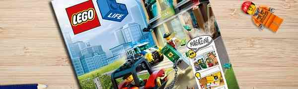 Free Subscription to LEGO Life Magazine